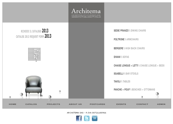 catalogo architema